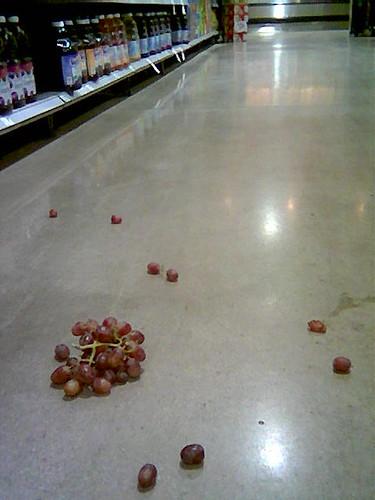 Grapes, Grape Juice.  Grape Juice, Grapes.