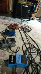 Brian's effects pedals