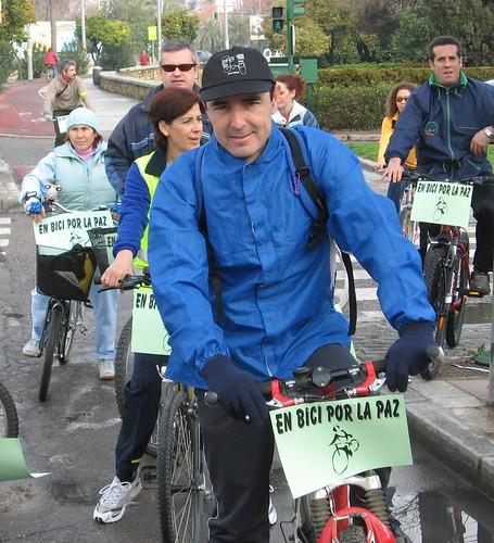 Marcha en Bicicleta por la Paz.