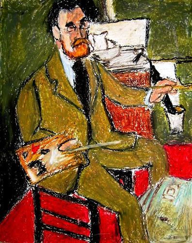 Henri Matisse - Self Portrait - 1918