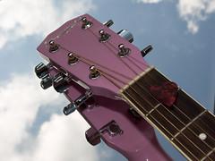 Pink Guitars