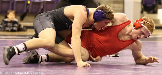 149- Daniel Close, MSU, def. Cody Haugen, 8-1 (10-5)