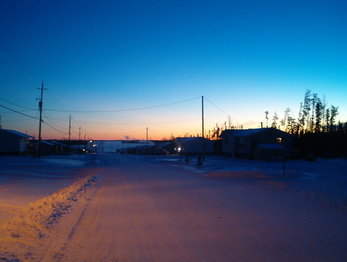 Dawn in Neskantaga
