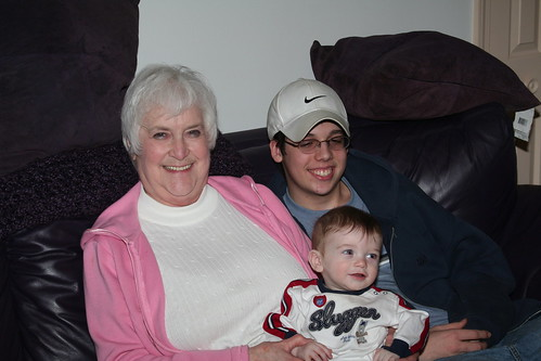 Granny and her two grandsons