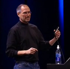 Steve Jobs + iPhone = Genius