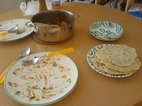 Roti for Lunch