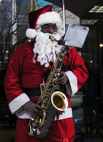 Jazzy Santa and a Merry Christmas to All!