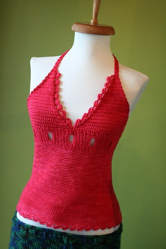 Red Hot Halter