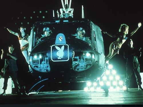 chicas en helicoptero playboy