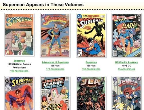 Superman's appearances