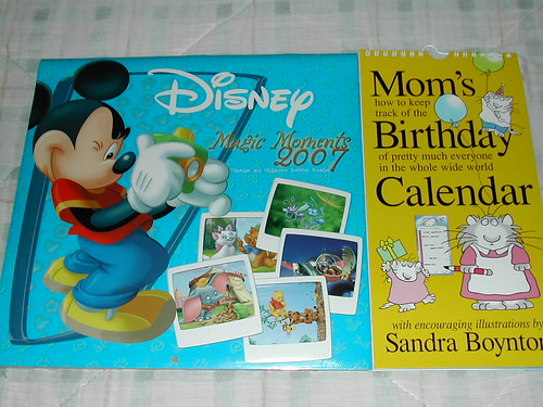 Calendars from Angie
