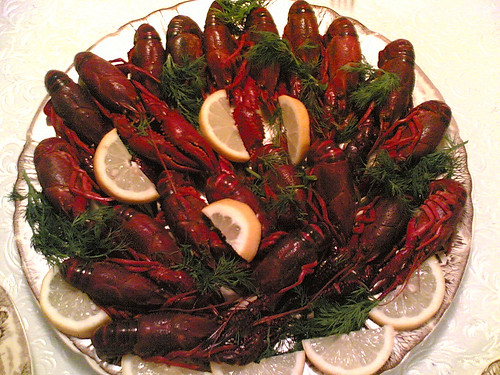Delicous delicacy, Seasonal Crawfish