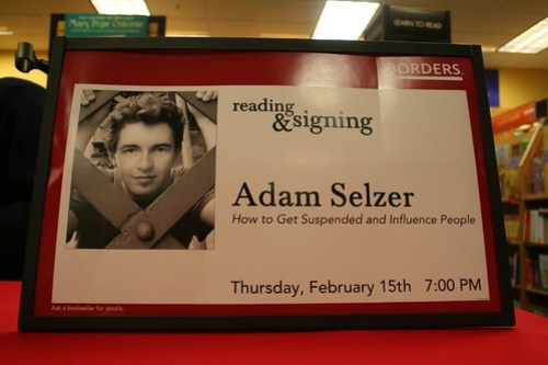 Book Reading & Signing