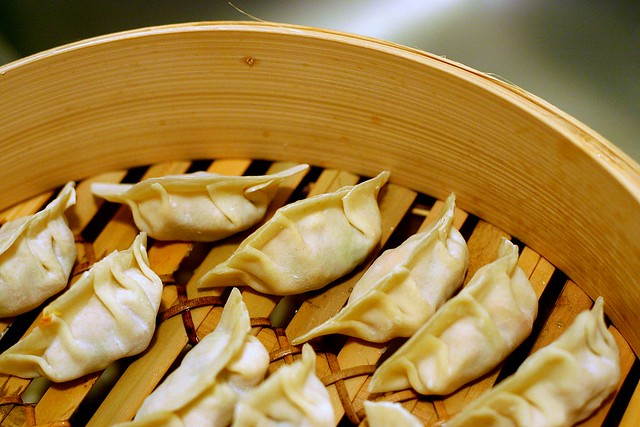 vegetable dumplings