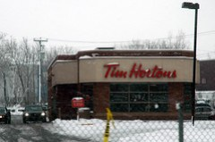 Always a Line at Tim Horton's