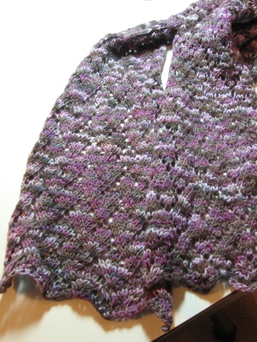 Grapevine Lace Scarf