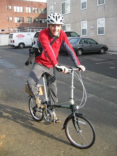 BK\'s folding bike