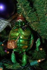 Favorite Fishing Turtle Ornament