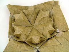 star puff segments, in a hexagon