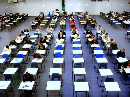 Day 23 - Exam hall