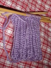 1st sock - cuff complete