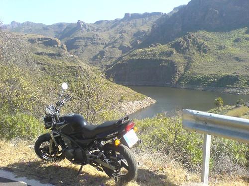 ER-5 en la presa de Soria
