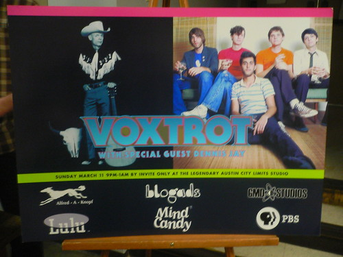 Voxtrot / Dennis May party @ ACL Studios
