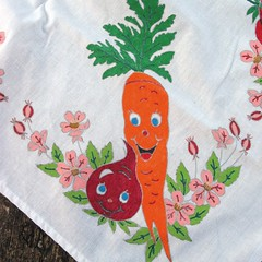 Vegetable tablecloth 1
