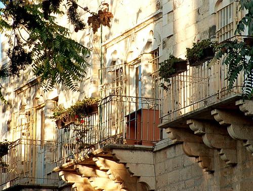 Old streed in Jerusalem