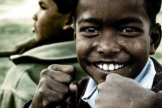 Every Nation and Tribe and People and Language, With a fist and a smile