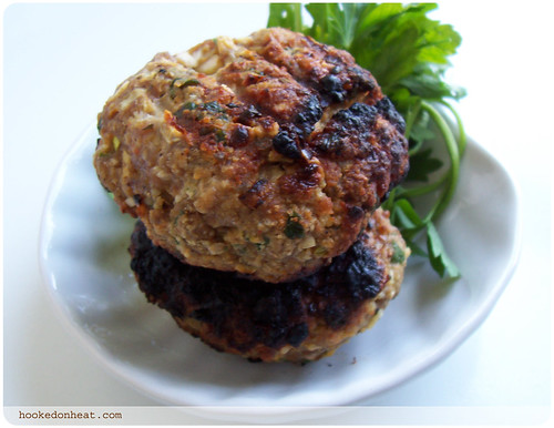 Spicy Lamb Burgers