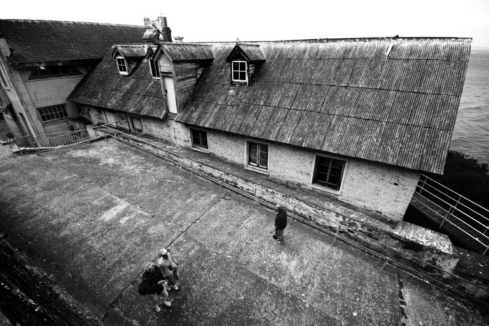 Corrugated Prison Roof