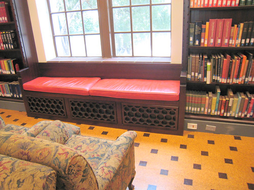 Dabney library reading nook