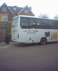 Impact Tours bus
