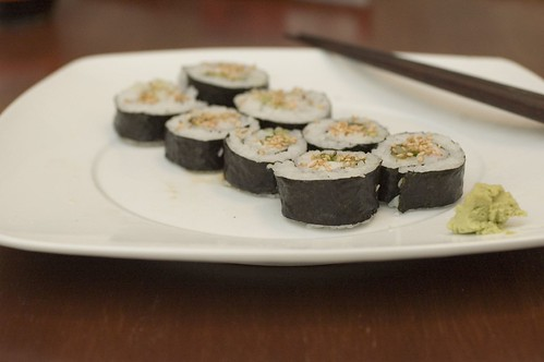 My First Sushi Success!