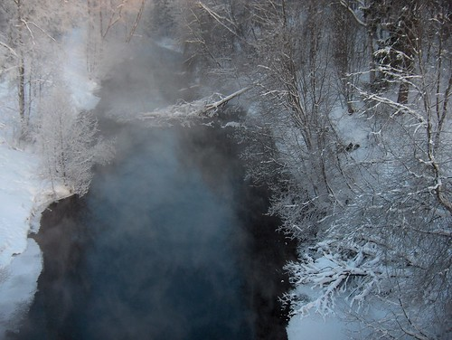 Mist Rising Off The River