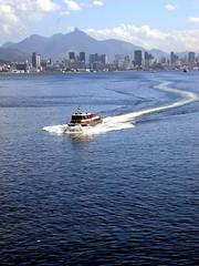 Barca (FerryBoat) Rio de Janeiro / Niterói - B...