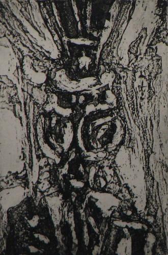 Uncle M, aquatint print 2