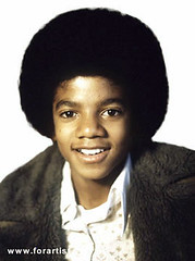 MJ at young age