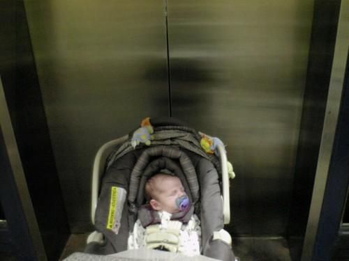 Denver Prepairing for the Elevator