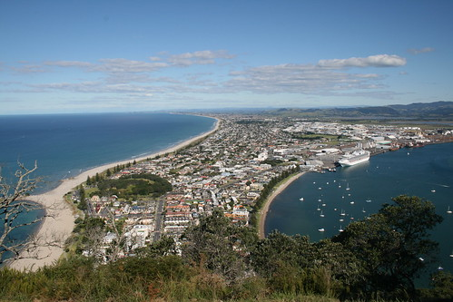 Panoramica desde Mt. Mounganui