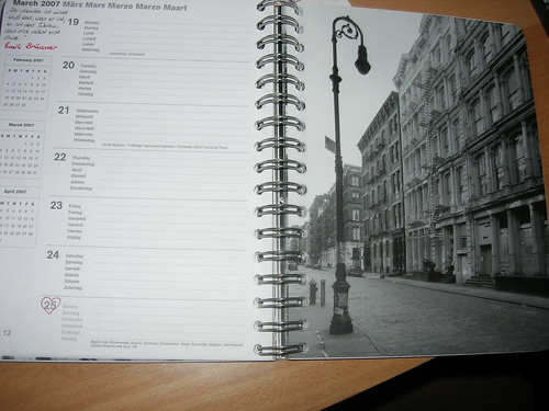 NY-Kalender innen