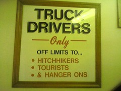 Truck Drivers only!