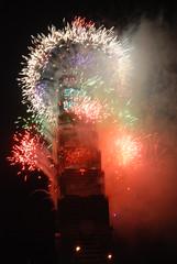 2007跨年-Taipei 101 firework-3