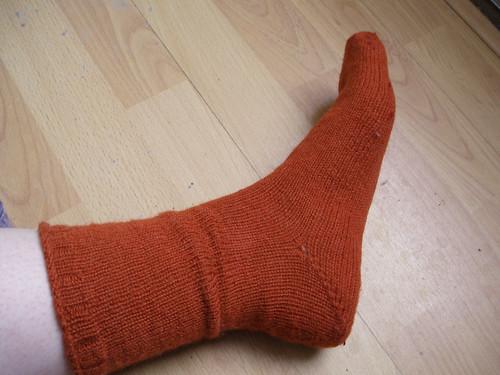 First sock evah