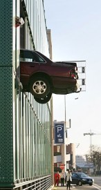 Car In Building