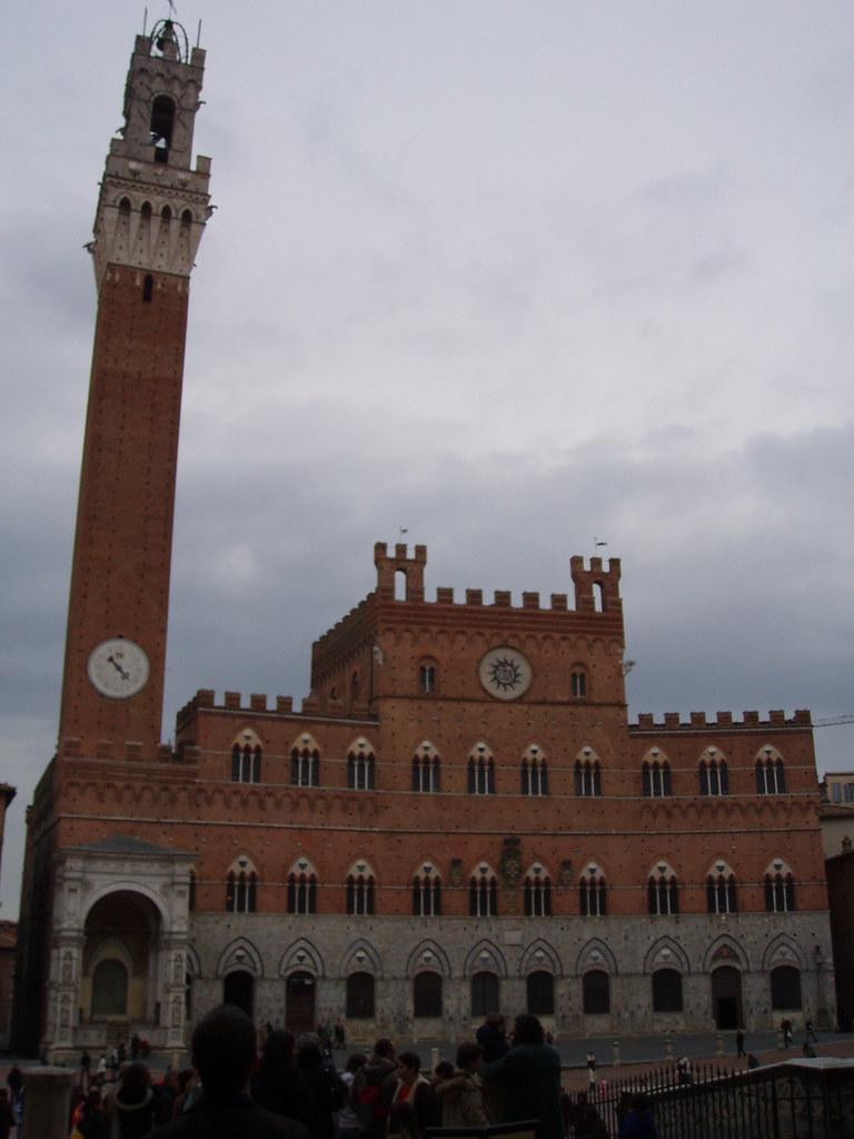 Palazzo Pubblico, el monumento màs representativo de Siena