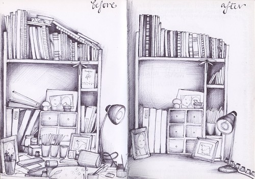 untidy/tidy