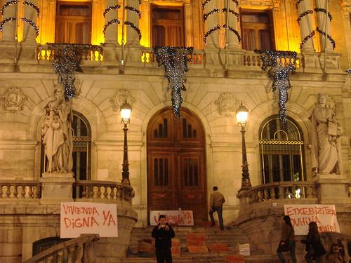 Vivienda digna Manifestación 23-12-2006 Bilbao (8)