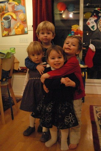 Madeleine, Will, Joy, Luke